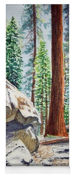 National Park Sequoia Yoga Mat