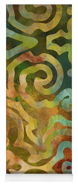 Native Elements Multicolor Yoga Mat