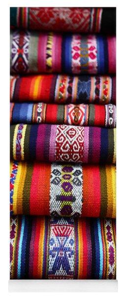 Native South American Weavings Yoga Mat