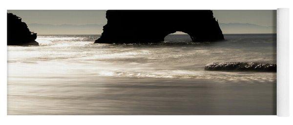 Natural Bridges State Beach Water Yoga Mat