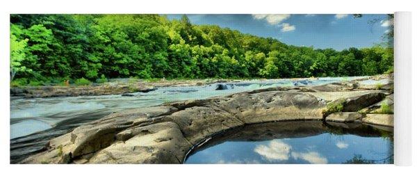 Natural Swimming Pool Yoga Mat