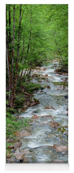 Naturally Pure Stream Backroad Discovery Yoga Mat