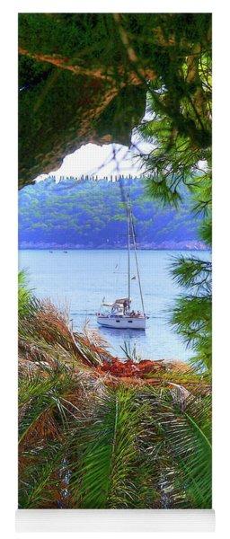 Nature Framed Boat Yoga Mat