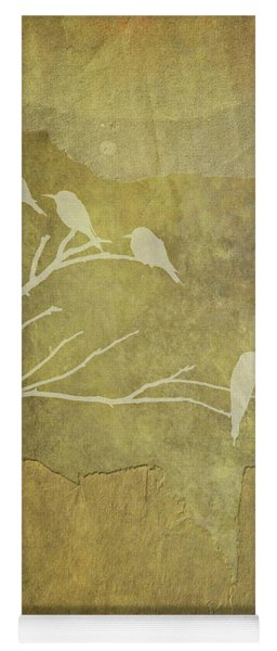 Nature Study In Gold  Yoga Mat