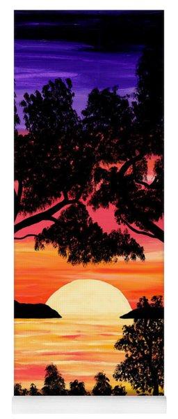 Nature's Gift - Ocean Sunset Yoga Mat