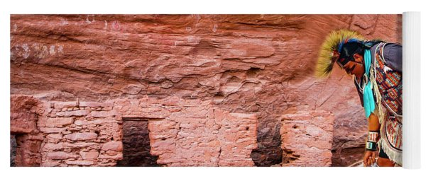 Navajo Ruins Yoga Mat