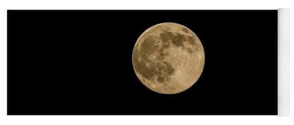 Near Full Moon, Strawberry Moon Yoga Mat