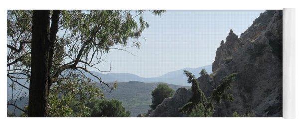 Near The Castle In Lanjaron Yoga Mat