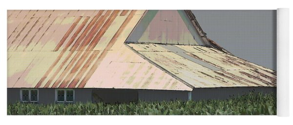 Nebraska Farm Life - The Tin Roof Yoga Mat