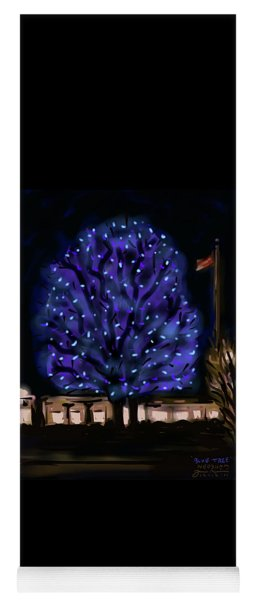 Needham's Blue Tree Yoga Mat