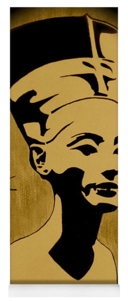 Nefertiti Egyptian Queen Yoga Mat