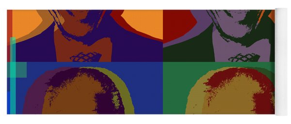 Nelson Mandela Pop Art Yoga Mat