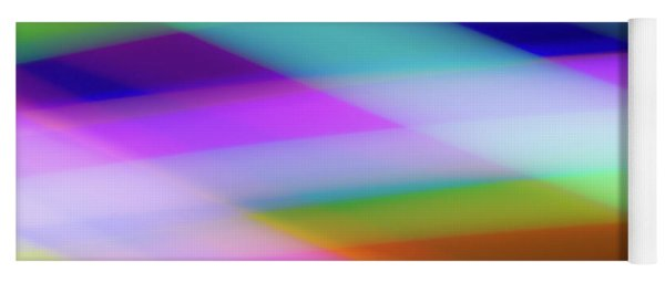 Neon Crossing Yoga Mat