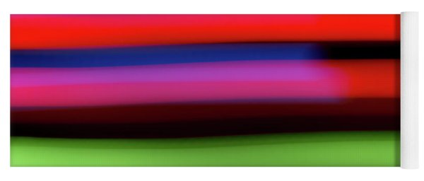 Neon Stripe Yoga Mat