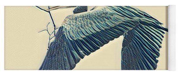 Nesting Heron Yoga Mat