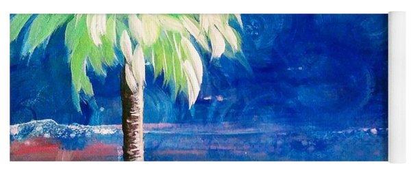New Blue Horizons Palm Tree Yoga Mat