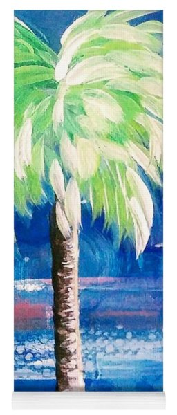 New Blue Horizons Palm Tree Yoga Mat