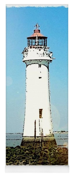 New Brighton Lighthouse Yoga Mat