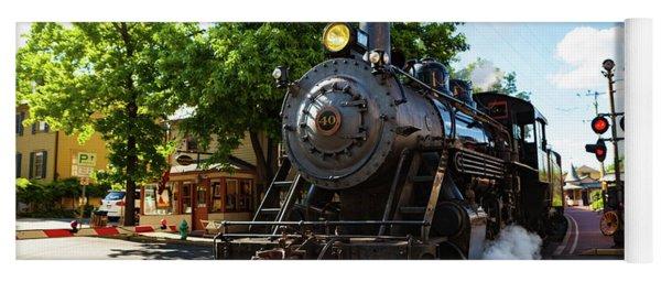 New Hope And Ivyland Railroad  Yoga Mat