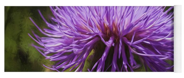New Mexican Thistle Yoga Mat