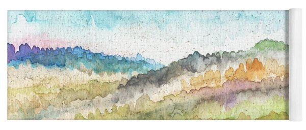 New Morning- Watercolor Art By Linda Woods Yoga Mat