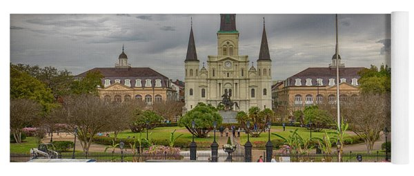 New Orleans Jackson Square Yoga Mat