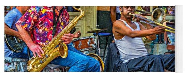 New Orleans Jazz - Paint Yoga Mat