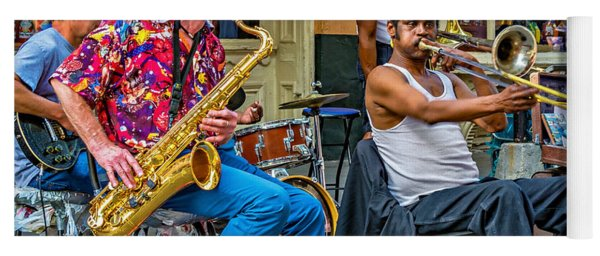 New Orleans Jazz Yoga Mat