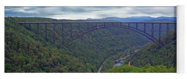 New River Bridge Yoga Mat
