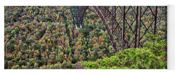 New River Gorge Bridge Yoga Mat