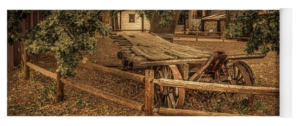 End Of The Trail - Paramount Ranch Yoga Mat