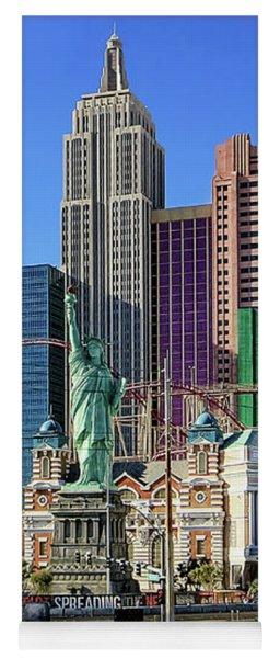 New York , New York Yoga Mat