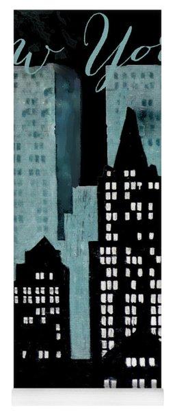 New York Art Deco Yoga Mat
