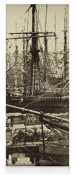 New York City Docks - 1800s Yoga Mat