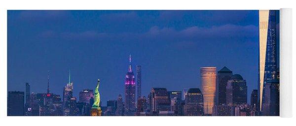 New York City Icons Yoga Mat