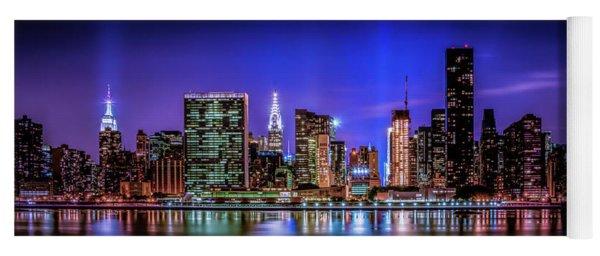 New York City Shine Yoga Mat