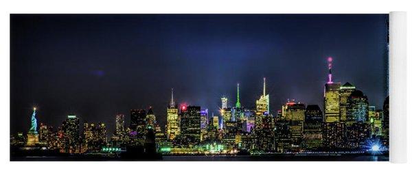 New York City Skyline Yoga Mat
