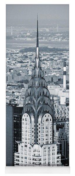 New York City - Usa - Chrysler Building Yoga Mat