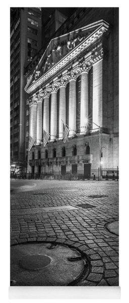 New York City Wall Street  Yoga Mat
