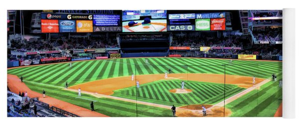 New York City Yankee Stadium Yoga Mat