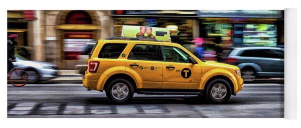 New York City Yellow Taxicab Yoga Mat