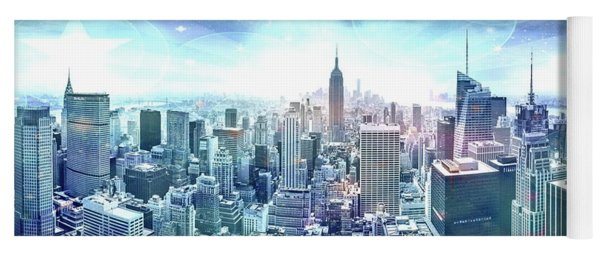 New York Fairytales Yoga Mat
