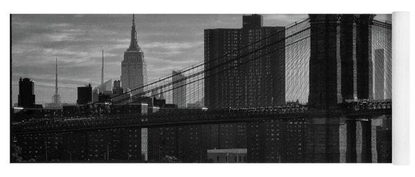 New York Landmarks Yoga Mat