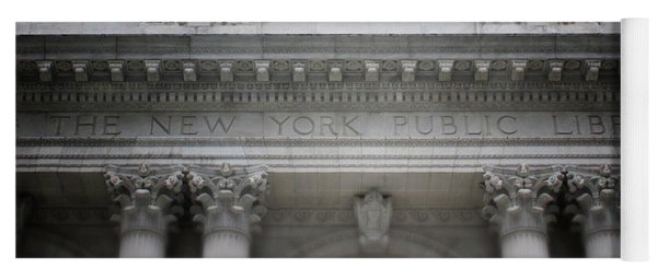 New York Public Library- Art By Linda Woods Yoga Mat