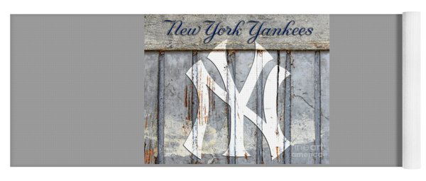 New York Yankees Rustic Yoga Mat