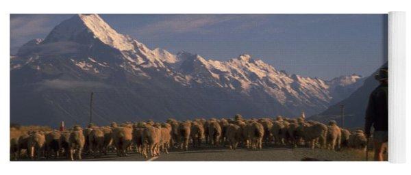New Zealand Mt Cook Yoga Mat