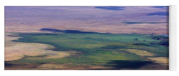 Ngorongoro Crater Tanzania Yoga Mat