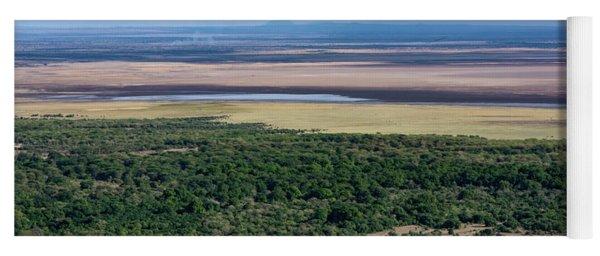 Ngorongoro Crater, Tanzania, East Africa Yoga Mat