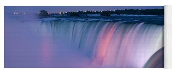 Niagara Falls At Dusk Yoga Mat