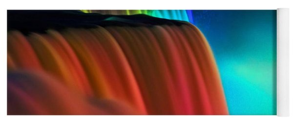 Niagara Falls At Night Yoga Mat